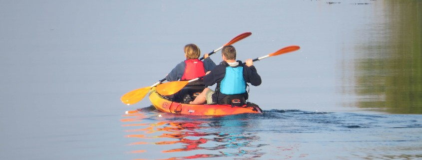Kayaking at Seafort Luxury Hideaway