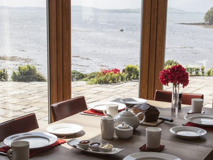 Breakfast with a view at Seafort Luxury Hideaway