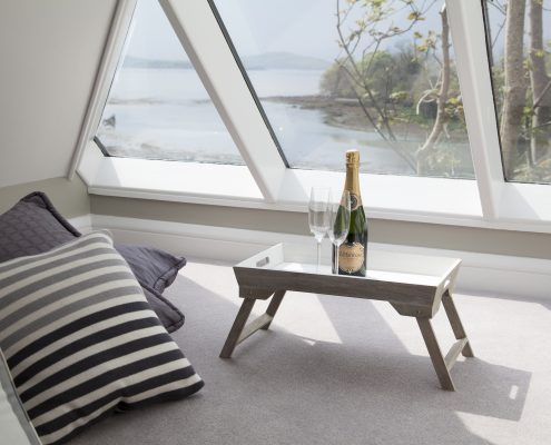 Room with A View in the Suite available at Seafort Luxury Hideaway