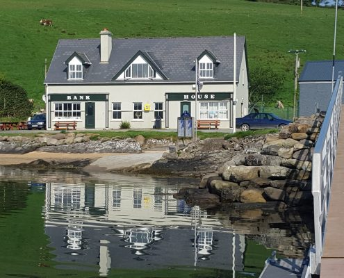 The Bank House Whiddy Island stay at Seafort Bantry